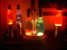 Cool Lava Lamps for Sale   Skittles lava lamp set for sale UK seller - Oozing Goo - The Lava Lamp ...