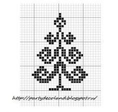 muster für stickereien color chart duplicate stitch sapin