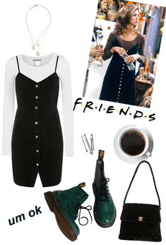 Monica Geller Outift Outfit ShopLook Fashion - Water - Monica Geller Outift Outfit ShopLook Fashion Source by - Hipster Outfits, Mode Outfits, Grunge Outfits, Fashion Outfits, 90s Fashion Grunge, Girl Outfits, Womens Fashion, Estilo Rachel Green, Rachel Green Style