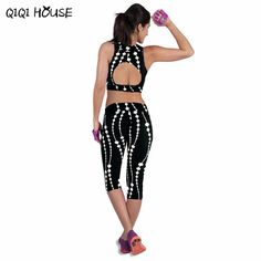 Leggings Fitness Womens Printed Stretch Top Fitness legging para academia mulheres //Price: $9.95 & FREE Shipping //     #leggins