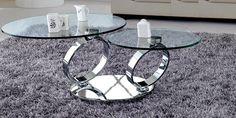 20 Inimitable Styles of Swiveling Glass Coffee Table Coffe Table Design, Modern Coffee Tables, Home Furniture, Chrome, House Design, Glass, Ottawa, Toronto, Home Decor