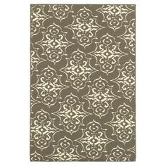 Gray Arabesque Exeter Accent Rug 26 X 45-in