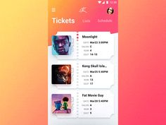 Hey,  Here's the interaction piece from the project i had a blast working on. It's a mobile application for annual Cinema Festival Club.   Application and its iterations aid in the promotion of the...