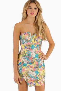 Jupiter Floral Dress - Tobi