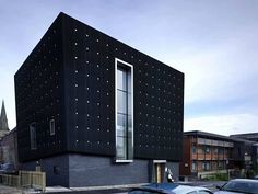 Black, Soundproof Home