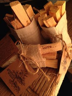 Sac of Palo Santo with Intention
