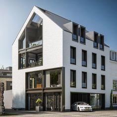 VK is the largest European social network with more than 100 million active users. Architecture Classique, Architecture Résidentielle, Classic Architecture, Building Facade, Building Design, Building A House, Facade Design, Exterior Design, Autocad