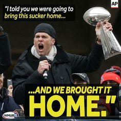 HOME! Where it belongs.