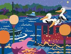 Harbor Light Pelicans