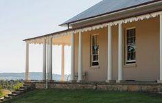 Colonial verandah, Throsby Park. Moss Vale