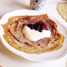 Swedish thin pancakes | 52 Delicious Swedish Meals You Need To Try Before You Die