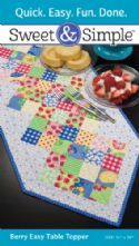 Berry Easy Table Topper - Quilt Pattern