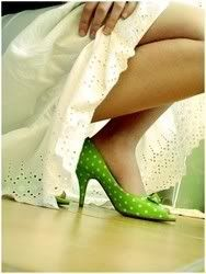 I looked everywhere to find shoes like this for my wedding...didn't happen but the ones I did were were cute too!