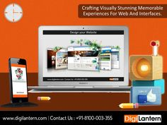 #DigiLantern has the creative as well as technical expertise to design your website integrated with entire digital marketing solutions.