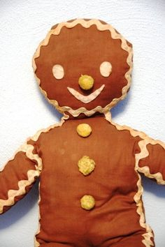 Etsy Transaction - Vintage Gingerbread Man Doll