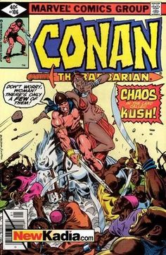 Conan the Barbarian and Red Sonja