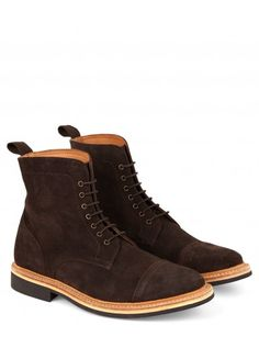 BROWN ESTATE BOOT Suede
