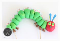 The Very Hungry Caterpillar Gum Paste Cake Topper : Design @ 409