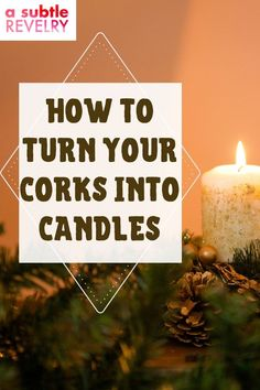 Here's a new decorative twist! Turn your corks into candles. A Subtle Revelry shows you why you want to keep your corks. Some people keep the decorative wine bottles to use them as vases for flowers. Now you can save all those corks. And if you want more you can even buy corks in bulk. The more corks you make into candles the more you have to light up all around your home - even use them for parties - just like you would a regular candle. Learn more… #corkcandles #lightupcorks #corklighting Wooden Crafts, Diy And Crafts, Paper Crafts, Cork Lighting, Balloon Backdrop, Love Balloon, Flower Vases, Flowers, Lighted Wine Bottles