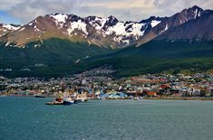 Ushuaia in Argentina is one the southernmost cities in the world and is situated in a mountain rich landscape which makes the surroundings absolutely stunning