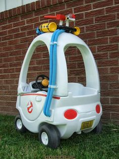 Ghostbusters cozy coupe makeover. So adorable.
