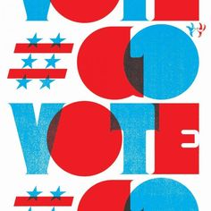Go Vote – Jason Wong – enormouschampion Typography Love, Typography Inspiration, Lettering, Typography Poster, Blue Campaign, Go Tv, Blue Poster, Magazine Layout Design