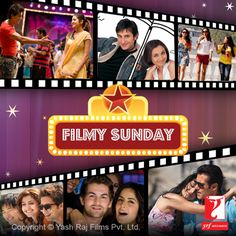 Enjoy a filmy Sunday guys!