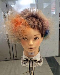 埋め込み Girl Interrupted, Corte Y Color, Hair Reference, Naha, Creative Hairstyles, Hair Art, Punk Fashion, Hair Designs, Free Design