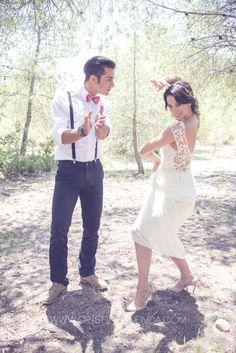 Especial #bodas by Hashtag. #Novios con mucho #arte.