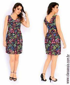 Vestido de Fluity, modelagem perfeita que valoriza suas curvas!   Vestido cod: 24.517 Acesse www.claraassis.com.br