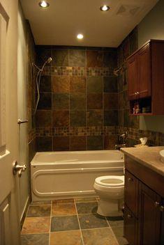 Copper And SlaTe Bathroom   Google Search