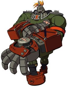 Potemkin from Guilty Gear Xrd -Sign- ★ || CHARACTER DESIGN REFERENCES (www.facebook.com/CharacterDesignReferences & pinterest.com/characterdesigh) • Love Character Design? Join the Character Design Challenge (link→ www.facebook.com/groups/CharacterDesignChallenge) Share your unique vision of a theme every month, promote your art and make new friends in a community of over 20.000 artists! || ★