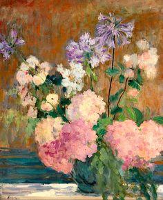 Henri Lebasque 1865-1937 Bouquet De Fleurs