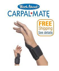 CARPAL MATE WRIST SUPPORT offer the best  Carpal Mate Wrist Support - Black. This awesome product currently 10 unit available, you can buy it now for $29.99 $11.48 and usually ships in 24 hours New        Buy NOW from Amazon »                                         : http://itoii.com/B000ME3MMM.html