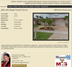 Southwest Kendall Home approved and ready to Close.  Contact us today for more info at info@miamigg.com.  Thank you!