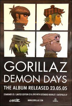 Gorillaz poster - Demon Days Primary Photo