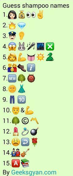 {Latest} Top 10 Whatsapp Puzzles Quiz with answers 2020 Emoji Quiz, Emoji Games, Guess The Emoji Answers, Quiz With Answers, Mind Games Puzzles, Funny Puzzles, Maths Puzzles, Ladies Kitty Party Games, Kitty Games