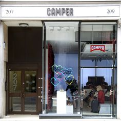 Music and drinks will accompany you on your shoe shopping experience at Camper during Fashion's Night Out. Camper Store, Vogue Fashion Night, Greater London, Soho, Four Square, Locker Storage, Night Out, Drinks, Street