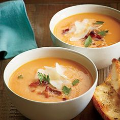 Sweet Potato Soup - This sounds SOOO YUMMY!