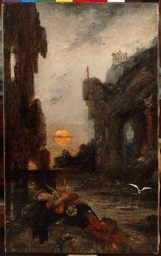 Moreau, mort de Sapho, 1872-75, Réunion des Musées Nationaux-Grand Palais -