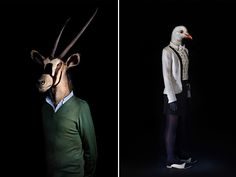 Second Skins - Madrid based photographer Miguel Vallinas has taken a more realistic, and ironically serious, approach to this movement. Each of the animals are dressed exactly how you'd image them if they were human!