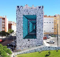 Awe-Inspiring Street Art That Blurs The Border Between Reality And Fantasy