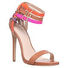 Carvela Gaze Triple Ankle Strap Court Shoes