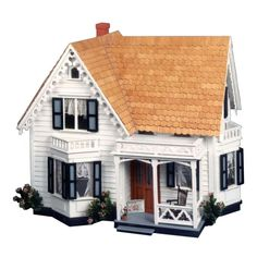 Greenleaf Westville Dollhouse Kit - 1 Inch Scale - Unassembled Dollhouse Kits at Hayneedle
