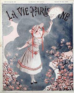 Henri Gerbault (1863-1930). La Vie Parisienne, 1916. [Pinned 1-ii-2015]