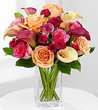 Colors of Love Spring Mixed Bouquet (F)