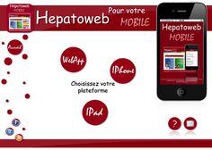 Hépatoweb est un site de référence dans le domaine de l'hépatologie, de la gastroentérologie et de l'alcoologie. Le Dr Didier Mennecier présente à Doctor 2.0 en juin 2013, le résultat d'une étude concernant l'utilisation de l'appli mobile Hépatoweb pour l'information des patients avant un examen. L'étude montre une diminution significative de l'anxiété chez les patients ayant reçu un complément d'information grace à l'appli mobile. Ipad, Grace, Information, Iphone, Doctors, App, Platform, June, Watch