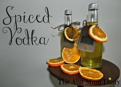 Spiced Orange Vodka : Homemade Christmas Gifts - The Ana Mum Diary Christmas Food Gifts, Xmas Food, Homemade Christmas Gifts, Christmas Diy, Handmade Christmas, Christmas Hamper, Christmas Drinks, Christmas Boxes, Holiday Drinks