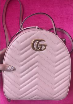 5f1ef26d7d44 Pink cute Gucci backpack   Jeffree star snapchat story Leather Crossbody Bag