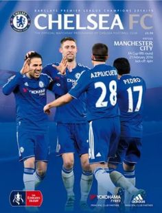 FA Cup 5th Round match programme cover: Chelsea v Man City #cfc #mcfc